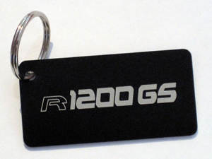 BEEMER GS key ring with R 1200 GS logo
