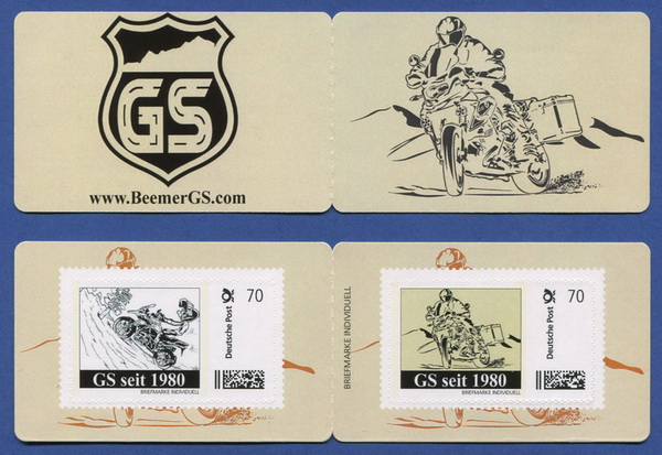 BEEMER GS Limited Edition postage stamp set!